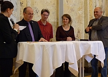 """Walking Talk"" Moderationsgespräch"