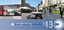 Walk-space AWARD 2013 Flyer