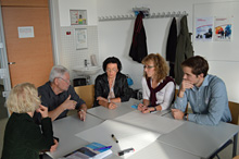 Diskussion im Workshop C